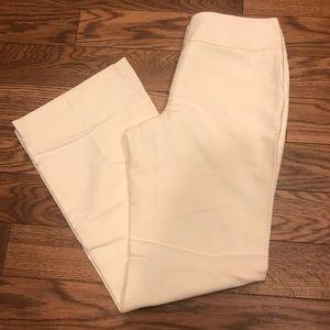 Ann Taylor Winter White Dress Pants